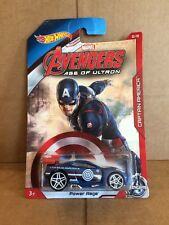 Hot Wheels Diecast-Marvel Avengers Edad de Ultron-Capitan America-Power Rage