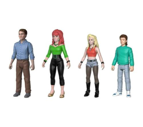 MARRIED WITH CHILDREN POSEABLE 4PC SET 2018 FALL CONVENTION EXCLUSIVE,BN FUNKO