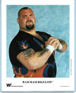 WWE-BAM-BAM-BIGELOW-P-262-OFFICIAL-LICENSED-AUTHENTIC-8X10-PROMO-PHOTO-VERY-RARE