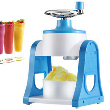 Hand Crank Ice Crusher Breaker Smoothie Maker Shaved Ice Machine For Kids Adults