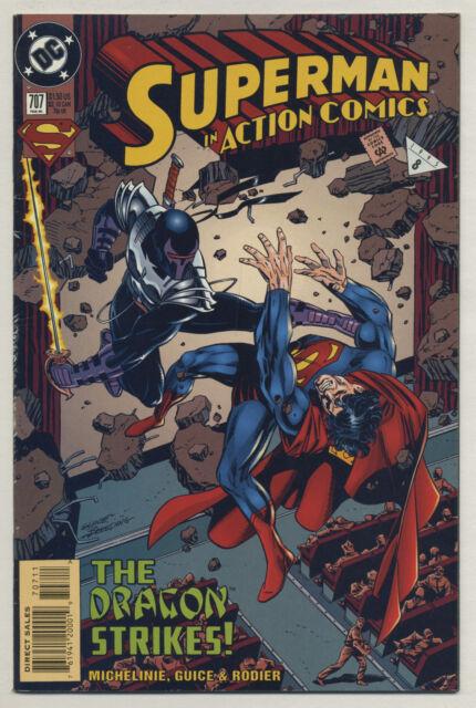 Action Comics #707 1995 David Michelinie Jackson Guice Denis Rodier DC Comics
