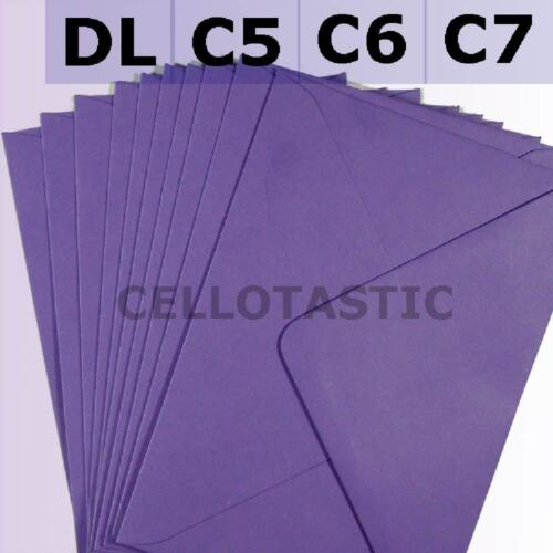 Premium Quality 100GSM C7 Envelopes 82x113 Choice of Colours and Quantities