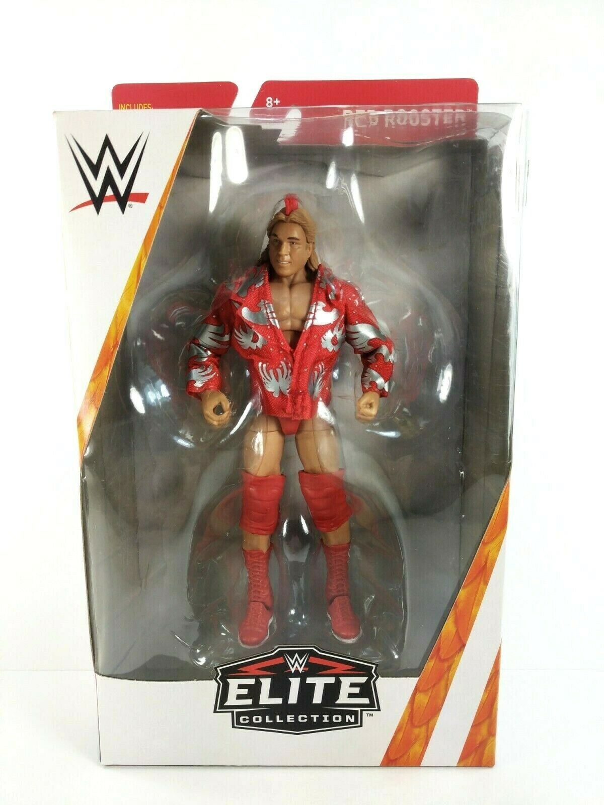 WWE Mattel - Elite Collection TARGET EXCLUSIVE - rot Rooster Figure 6  NEW