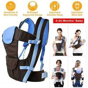 Newborn-Infant-Baby-Carrier-Breathable-Ergonomic-Adjustable-Wrap-Sling-Backpack