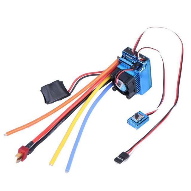 SUPARSS 3670 2650KV Brushless Motor 120A ESC Combo for 1//8 SCX10 RC Car Parts#GD