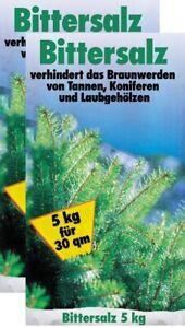 # 10kg Bittersalz Tannen Fichten Koniferen Garten Dünger Magnesiumdünger 2x 5 kg