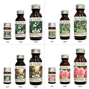 Essential-Oil-5ml-30ml-60ml-100-Pure-amp-Natural-Oils-inc-Lavender-Tea-Tree