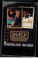 1990/91 Skybox Unopened Box Basketball Cards 36 Packs Series 1 1st Year Jordan