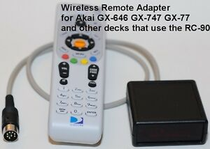 Wireless-Remote-adapter-RC-90-for-AKAI-GX747-GX646-GX77