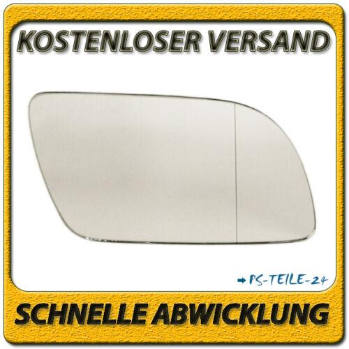 Vidrio pulido para VW Polo 9n 2001-2004 derecha lado del copiloto asphärisch