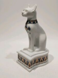 Egyptian-Cat-Trinket-Box-034-Treasure-Of-The-Pharaohs-034-By-Elizabeth-Arden-7-034-18cm