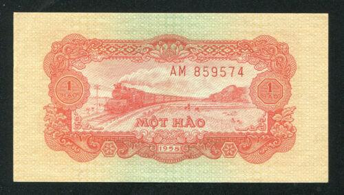Vietnam banknote 1 Hao 1958 P.68 UNC condition