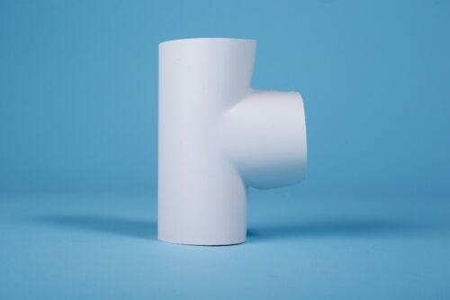 PVC T-Stück Sebald 33-35//30 Rohrisolierung Durchm 93 mm Ummantelung Heizung
