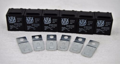 Bad Boy 12V 5 Terminal Sealed Waterproof Replacement Relay 6 Pack 1//2 Price!!!