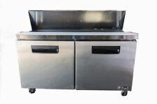 Used Blue Air Sandwich Blpt 60 Prep Refrigerator Table 60