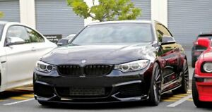 For BMW 4 Series F36 F32 F33 ABS Glossy  Blades Addons For M Sport Side skirt