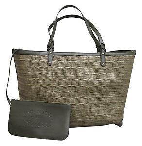 a50d04a09 $1200 NEW Authentic GUCCI CRAFT Tote Bag Handbag w/Pocket, Large ...