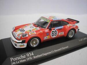 PORSCHE-934-69-24h-LE-MANS-1978-BRAILLARD-1-43-MINICHAMPS-400786469