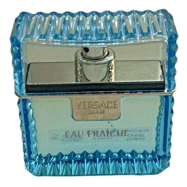 Versace, Eau Fraiche For Him 1.7 Fl Oz. New Without Box
