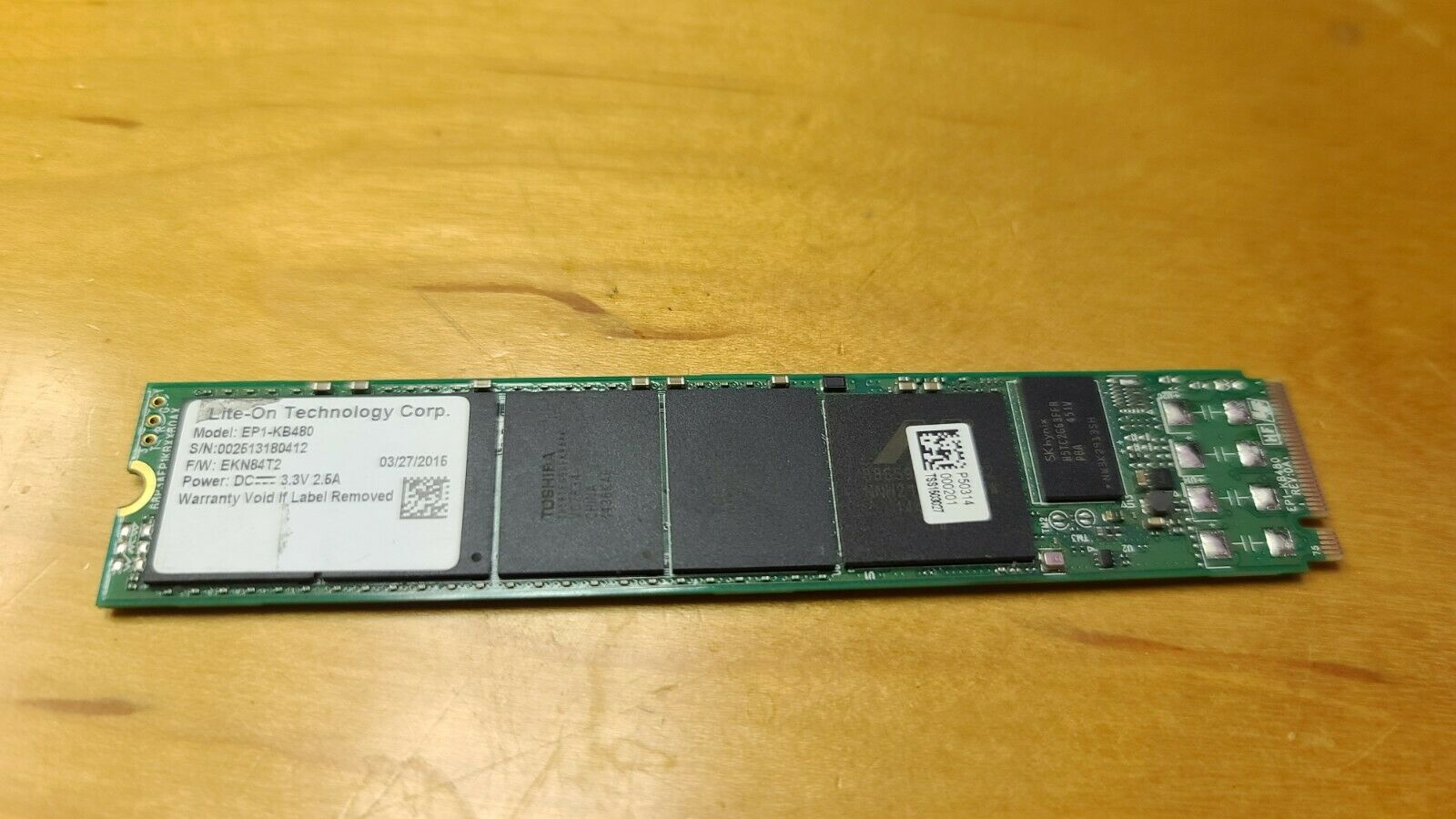 Lite-On EP1-KB480 480GB PCIe G2 NVMe M.2 22110 SSD Enterprise Solid State Drive . Buy it now for 35.89
