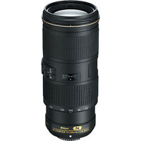 Nikon AF-S 70-200mm f/4G ED VR Lens for Nikon Digital SLR Cameras (Black)