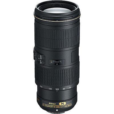 Nikon AF-S NIKKOR 70-200mm f/4G ED VR Lens for Nikon Digital SLR Cameras NEW!
