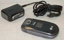 LG Revere VN150 BLACK Verizon Wireless Flip Keyboard Cell Phone VGA Camera -C-