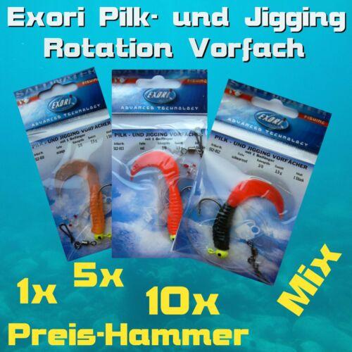 Exori Saltwater Pilk und Jigging Vorfach mit Beifänger Pilkvorfach █══ HAMMER!