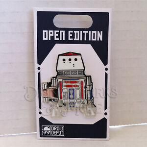 Disney-Parks-Star-Wars-Galaxy-039-s-Edge-R5-D4-Droid-Factory-Pin