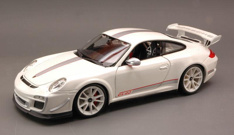 Porsche 911 Gt3 Rs 4.0 2012 bianca 1:18 Model 11036W BBURAGO