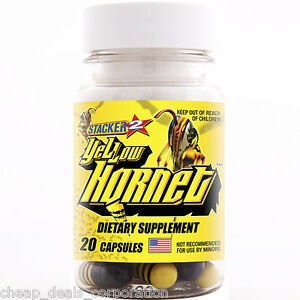 Yellow-Hornet-by-Stacker-2-Boost-Energy-20-ct-1-Bottle-20-Capsules