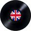 30 Premium Vinyle UK DEBOUT comestibles riz carte Plat Cup Cake Toppers D3
