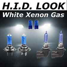 H7 H9 55w 65w White Xenon HID Look High Low Fog Beam Headlight Bulb Pack