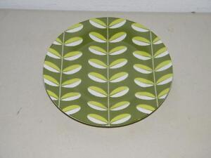 Danica-Breakfast-Set-Salad-Plate-Green-Leaf-Mod-14641