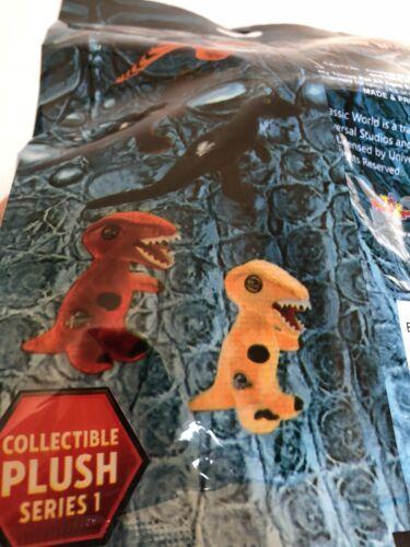 x3 Lot BLIND BAG PLUSH Jurassic World Dinosaur Jurassic Park Dino Raptor Movie