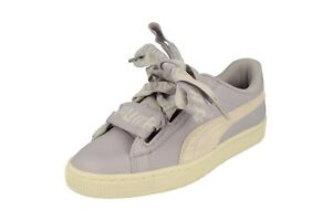 separation shoes e84c2 8ae70 Details about Puma Womens Basket Heart De Trainers 364082 Sneakers Shoes 07
