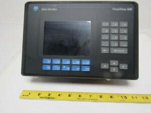 Allen-Bradley-2711-K6C1-SER-B-Panelview-600-Operator-Interface-Rev-F-FRN-4-00