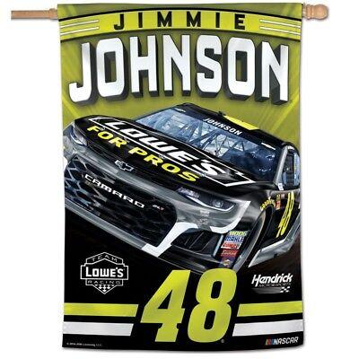 Wincraft Jimmie Johnson NASCAR Banner Flag