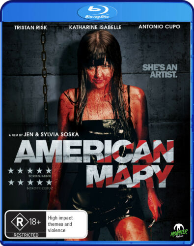 1 of 1 - American Mary (Blu-ray, 2013) * Jen Soska, Sylvia Soska * Monster Pictures *