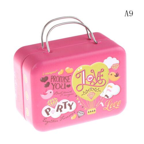 Trunk Toy Miniature 1:6 Dollhouse Accessories Dollhouse Miniature Suitcase GDSP