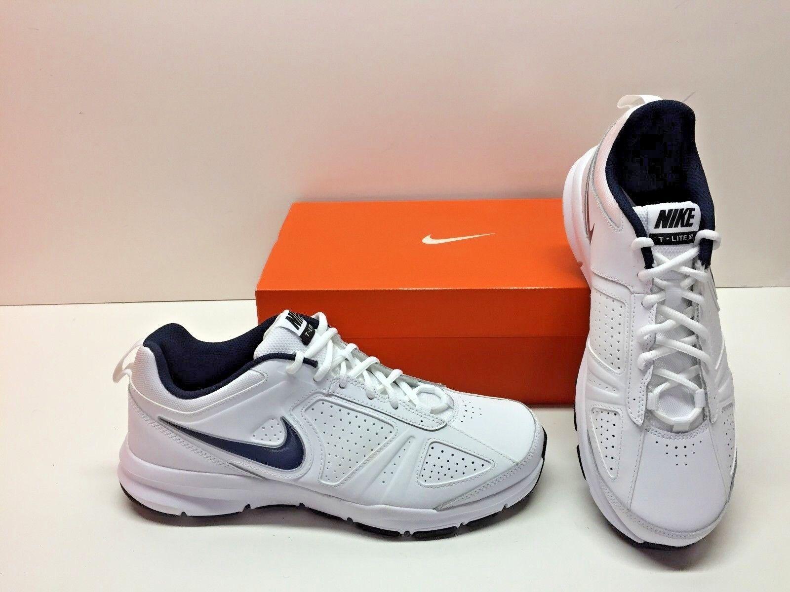 Nike t-lite xi scarpe 11 croce bianco nero formazione scarpe scarpe xi Uomo 10,5 90d1a0