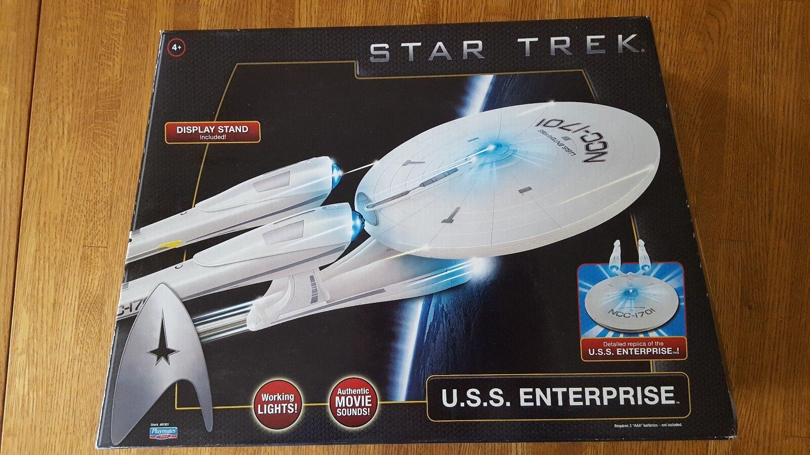 Playmates Toys Star Trek Movie Enterprise Vehicle 61931 NEW NEW NEW sealed 5e73db