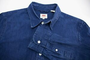 Levi-039-s-Strauss-amp-Co-Jeans-Hommes-Decontracte-Chemise-TAILLE-S-AKZ184