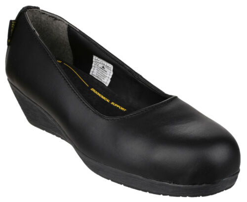 Amblers FS107 Safety Womens Steel Toe Cap Industrial Shoe Flats UK38