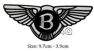 Bentley-logo-racing-biker-car-embroidered-iron-on-patch-badge-motor-M08