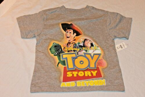 NEUF avec étiquettes Kids Toy Story AND BEYOND T-shirt XX-Small 2-3 ans