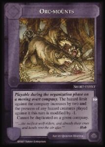 MECCG CCG Middle-earth Orc-Mounts The Lidless Eye LE MINT