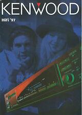 Kenwood Katalog Prospekt '97 KR-X1000 KM-X1000 KR-V999D KA-7090R KE-7090 DP-7090