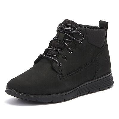 Timberland Killington Junior Black Chukka Boots Kids Leather Winter Shoes | eBay