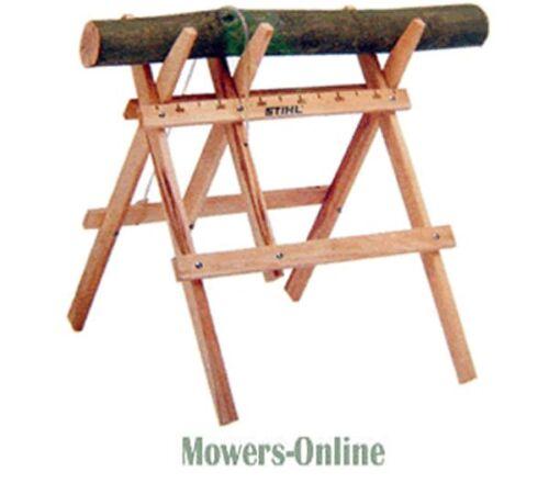 Stihl Wooden Sawhorse 0000 881 4602 Lightweight Folding Chainsaw Saw Horse
